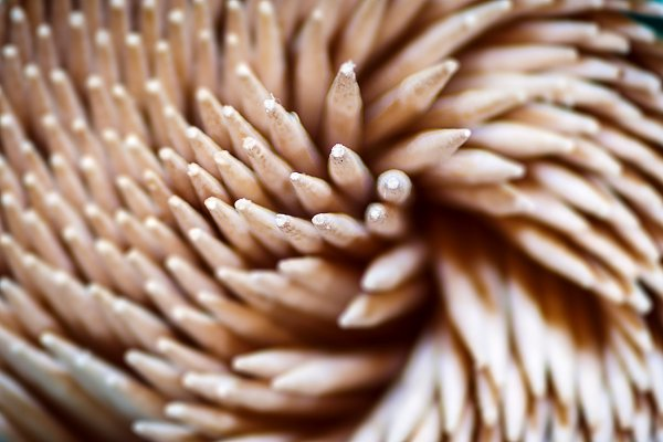 Abstract Stock Photos: rarrarorro - a group of wooden toothpicks