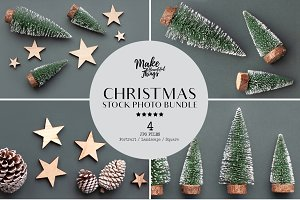 Christmas stock photography bundle