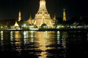 Wat Arun Temple. Bangkok, Thailand