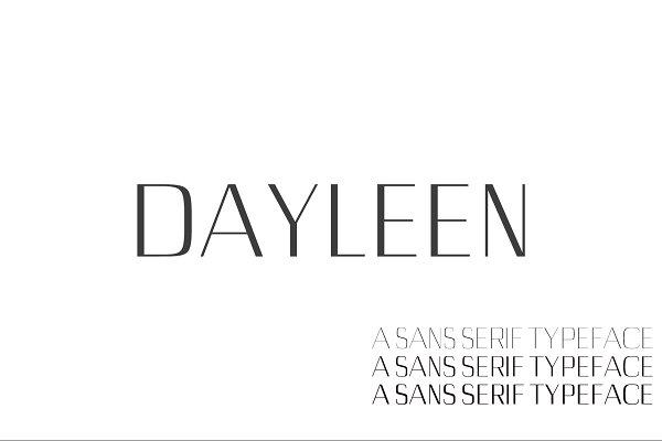 Dayleen Sans Serif Font Family