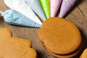 baking, draw on baking, patterns hor
