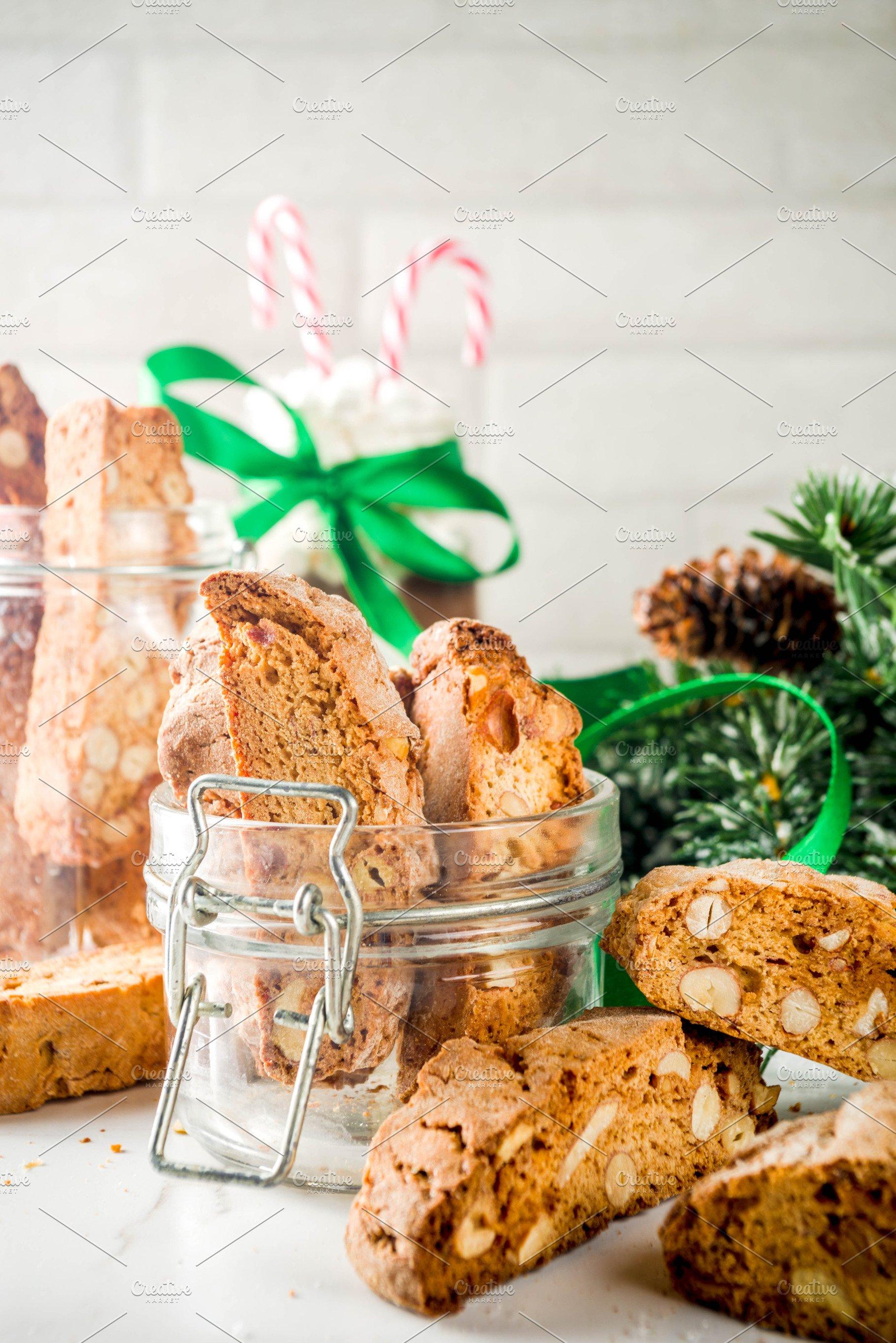 Christmas Biscotti Or Cantuccini
