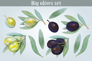 Big olives set 2