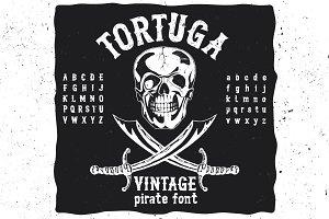 Tortuga hand drawn font