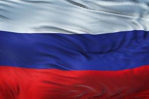 RUSSIA Realistic Waving Flag Bg