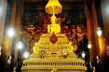 Inside the Wat Phra Kaeo Temple