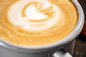 Close up of fresh coffee
