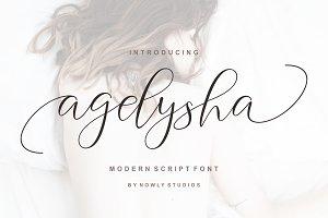 50% OFF ~ Agelysha Script