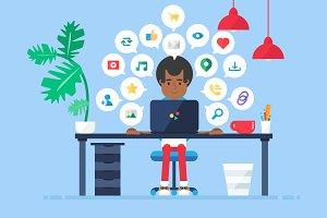 Online Business Workspace