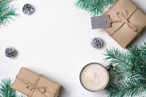 Winter Concept, Christmas Presents
