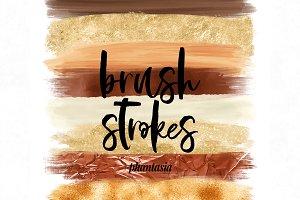 Fall Brush Strokes
