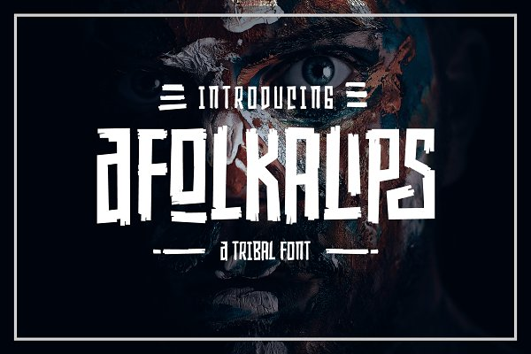 Display Fonts: Arterfak Project - Afolkalips