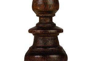 Brown bishop, chess piece