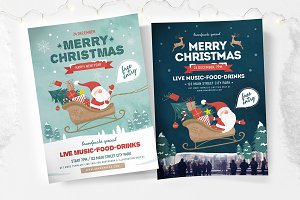 Merry Christmas Flyers & Posters