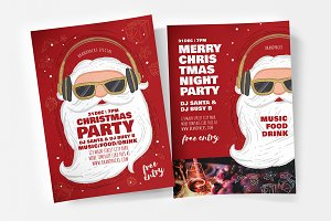 Christmas Party Flyers / Posters