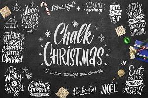 Chalk Christmas