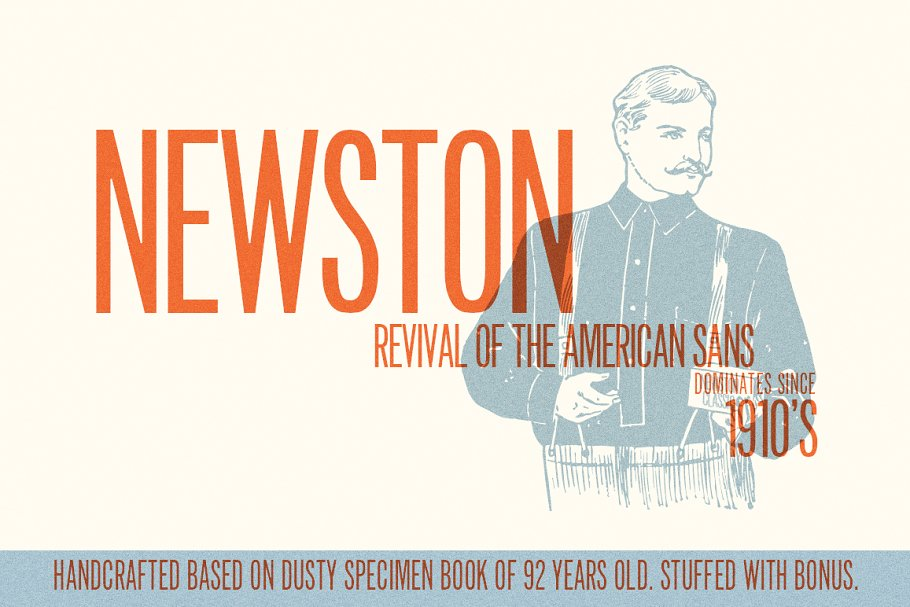 Newston ~ Display Fonts ~ Creative Market