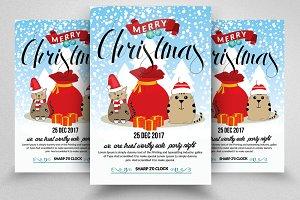 Christmas Greeting Flyer Templates