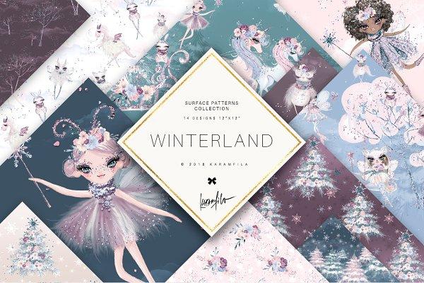 Winter Fairy Patterns