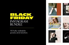 Instagram Bundle - BLACK FRIDAY by  in Social Media
