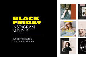 Instagram Bundle - BLACK FRIDAY