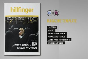 Indesign Magazine Template #2