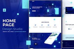 Web Studio - Elementor Pro Layout