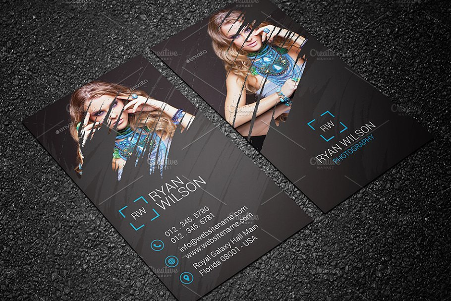 Photography Business Card 68 - Business Card Templates | Creative ...
