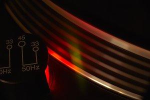 Strobe light of turntable