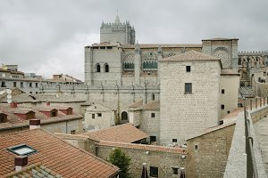 Avila Cathedral from The Walls