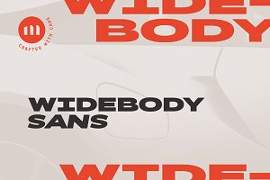 Widebody Sans