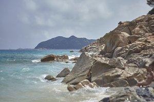 The mountain on the mediterranean se