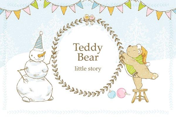 Teddy Bear: little story.