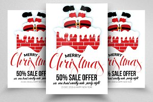 Happy Christmas Flyer Templates