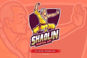 Shaolin Kungfu Master Esport Logo