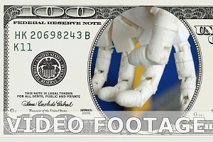 Robotic prosthetic arm in 100 dollar