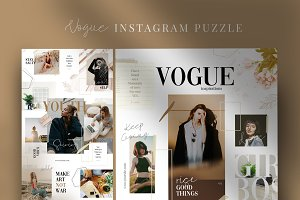 Vogue - instagram puzzle