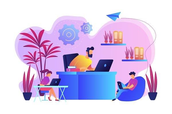 Biophilic design in workspace