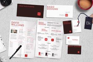 Branding Kit + Mockup - Basic