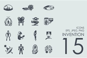 15 invention icons