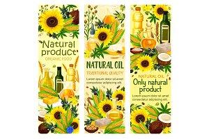 Natural organic oil of corn seed
