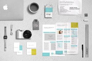 Branding Kit + Mockup - Prominence