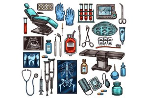 Medical equipment and surgery