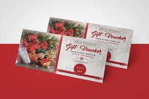 Holiday Gift Voucher V13