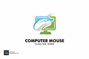 Computer Mouse - Logo Template