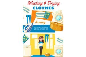 Washing and drying clothes