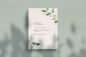 The Woodland Wedding Invitation