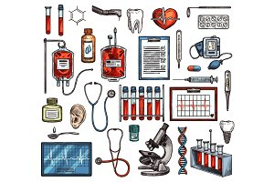 Medicine equipment and tools