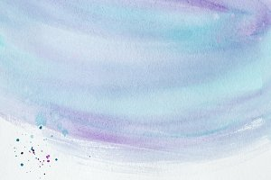 abstract purple and blue watercolor