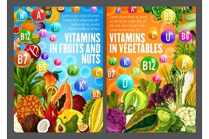 Vitamins and minerals form fruits